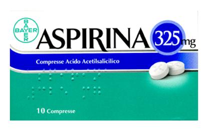 Immagine di ASPIRINA 325 MG COMPRESSE