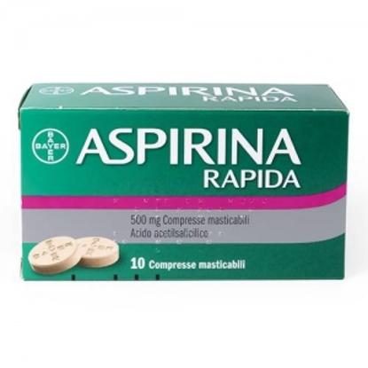 Immagine di ASPIRINA RAPIDAD 500 MG COMPRESSE MASTICABILI