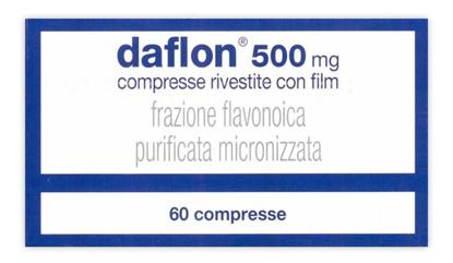 Immagine di DAFLON 500 MG COMPRESSE RIVESTITE CON FILM 60 COMPRESSE