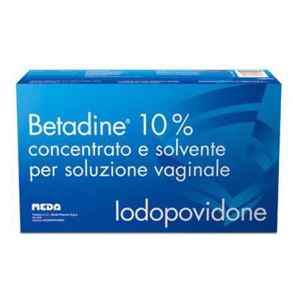 Immagine di BETADINE 10% CONCENTRATO E SOLVENTE PER SOLUZIONE VAGINALE