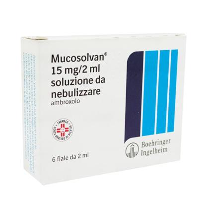 Immagine di MUCOSOLVAN 15 MG/2 ML SOLUZIONE DA NEBULIZZARE