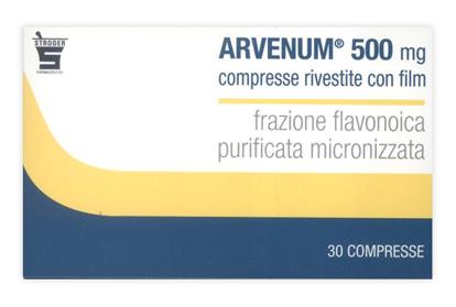 Immagine di ARVENUM 500 MG COMPRESSE RIVESTITE CON FILM