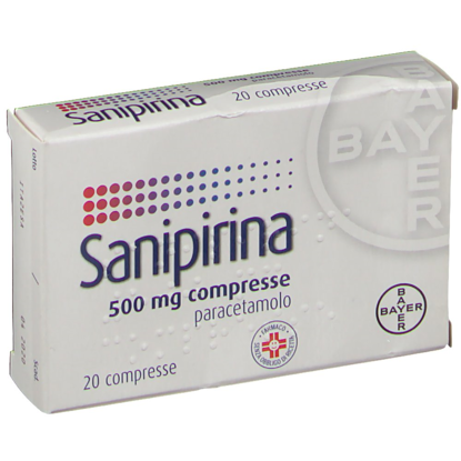Immagine di SANIPIRINA 500 MG COMPRESSE