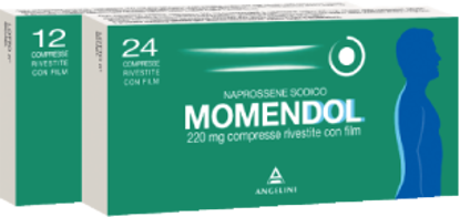 Immagine di MOMENDOL 220 MG COMPRESSE RIVESTITE CON FILM