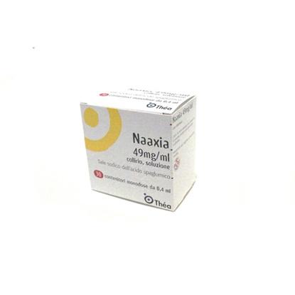 Immagine di NAAXIA 49 MG/ML COLLIRIO SOLUZIONE - MONODOSE