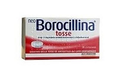 Immagine di NEO BOROCILLINA TOSSE 10 MG + 1,2 MG PASTIGLIE