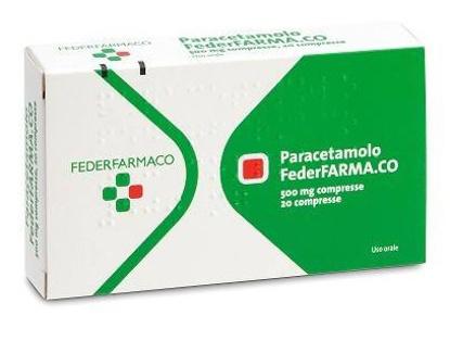 Immagine di PARACETAMOLO FARMAKOPEA 500 MG COMPRESSE