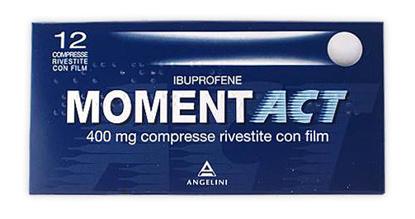 Immagine di MOMENTACT 400 MG COMPRESSE RIVESTITE CON FILM.