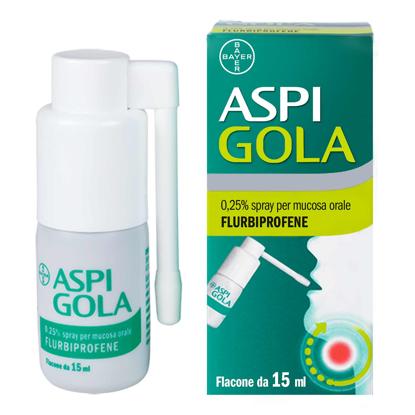 Immagine di ASPI GOLA 0,25% Collutorio ASPI GOLA 0,25% Spray per mucosa orale