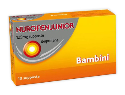 Immagine di NUROFENJUNIOR 125 MG SUPPOSTE BAMBINI