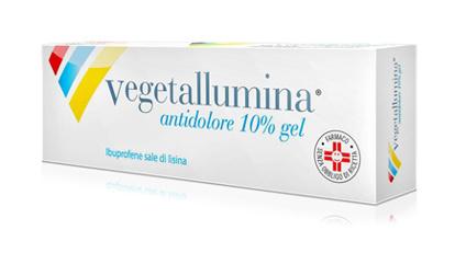 Immagine di VEGETALLUMINA ANTIDOLORE 1'% GEL