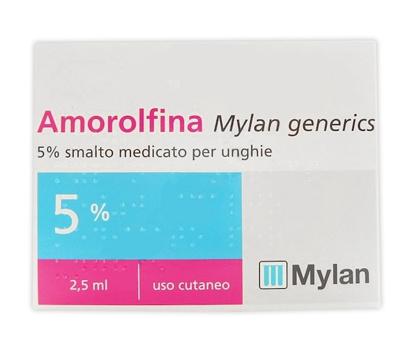 Immagine di AMOROLFINA MYLAN GENERICS 5% SMALTO MEDICATO PER UNGHIE