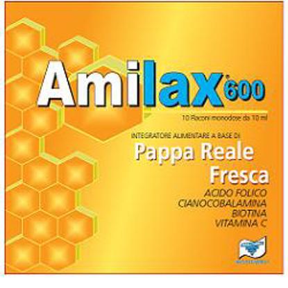 Immagine di AMILAX 600 10 FLACONCINI 10 ML