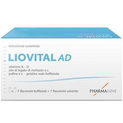 Immagine di LIOVITAL ADULTI 7 FLACONCINI LIOFILIZZATO + 7 FLACONCINI SOLVENTE
