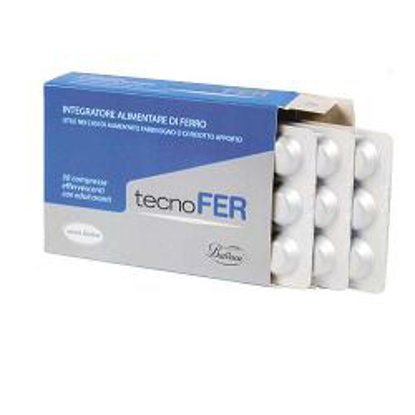 Immagine di TECNOFER 30 COMPRESSE EFFERVESCENTI 14MG 31,5 G