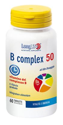 Immagine di LONGLIFE B COMPLEX 50 T/R 60 TAVOLETTE