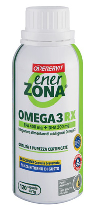 Immagine di ENERZONA OMEGA 3 RX 120 CAPSULE