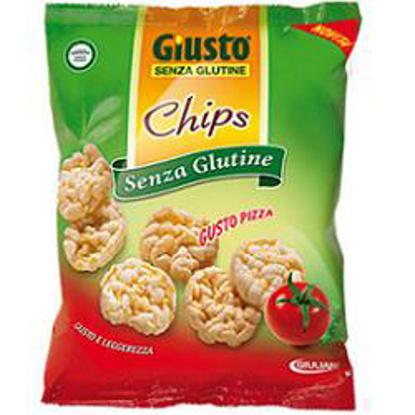 Immagine di GIUSTO SENZA GLUTINE CHIPS PIZZA 30 G