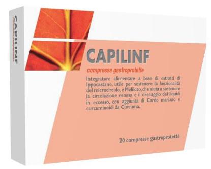 Immagine di CAPILINF 20 COMPRESSE GASTROPROTETTE