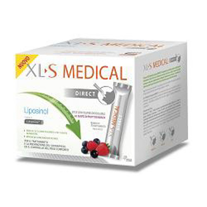Immagine di XLS MEDICAL LIPOSINOL DIRECT 90 BUSTINE STICK PACK 2,6 G