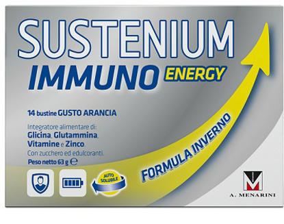 Immagine di SUSTENIUM IMMUNO ENERGY 14 BUSTINE DA 4,5 G