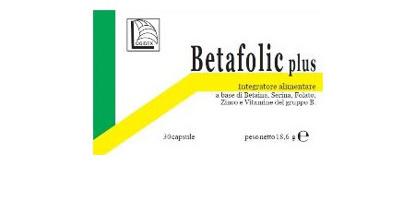Immagine di BETAFOLIC PLUS 30 CAPSULE ASTUCCIO 18,6 G