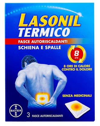 Immagine di LASONIL TERMICO SCHIENA/SPALLE 3 FASCE AUTORISCALDANTI
