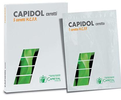 Immagine di CEROTTO DERMICO CAPIDOL HIGH CONCENTRATION FROZEN PHOSPHOLIPO 5 CEROTTI