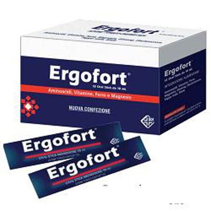 Immagine di ERGOFORT 12 BUSTINE STICK PACK 10 ML
