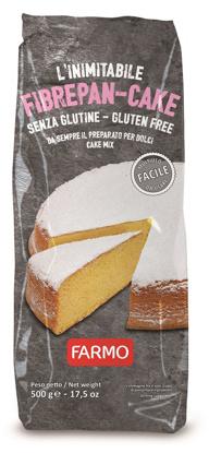 Immagine di FARMO L'INIMITABILE FIBREPAN-CAKE 500 G