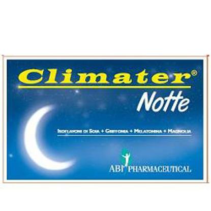 Immagine di CLIMATER NOTTE 20 COMPRESSE OROSOLUBILI 600MG*