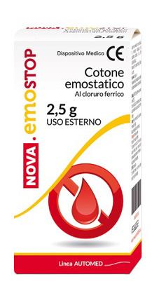 Immagine di COTONE EMOSTATICO CON CLORURO FERRICO NOVA EMOSTOP 2,5 G