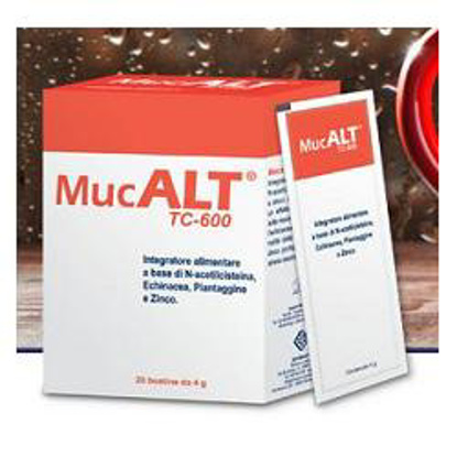 Immagine di MUCALT TC-600 20 BUSTE 4 G