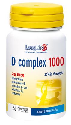 Immagine di LONGLIFE D COMPLEX 1000 60 COMPRESSE