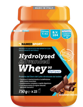 Immagine di HYDROLYSED ADVANCED WHEY DELICIOUS CHOCOLATE BARATTOLO POLVERE ORALE 750 G