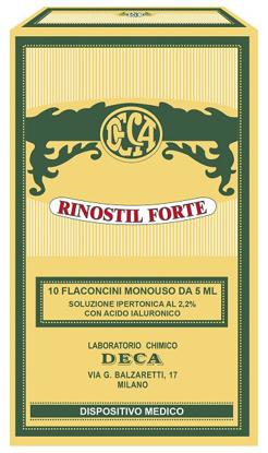 Immagine di RINOSTIL FORTE 10 FLACONCINI MONOUSO DA 5 ML