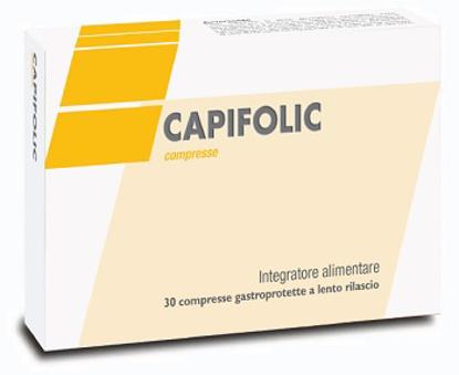 Immagine di CAPIFOLIC 30 COMPRESSE GASTROPROTETTE A RILASCIO LENTO