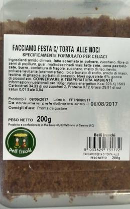 Immagine di FACCIAMO FESTA CON TORTA ALLE NOCI 200 G
