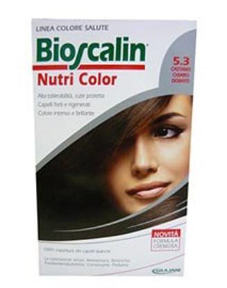 Immagine di BIOSCALIN NUTRI COLOR 5,3 CASTANO CHIARO DORATO SINCROB 124 ML