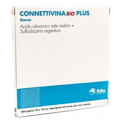 Immagine di CONNETTIVINABIO PLUS GARZA 10 X 10 CM 10 PEZZI