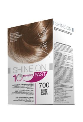Immagine di BIONIKE SHINE ON FAST TRATTAMENTO COLORANTE CAPELLI BIONDO 700 FLACONE 60 ML + TUBO 60 ML