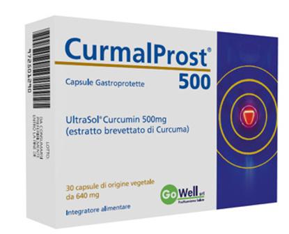 Immagine di CURMALPROST 500 30 CAPSULE GASTROPROTETTE