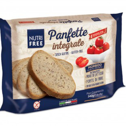 Immagine di NUTRIFREE PANFETTE INTEGRALE 340 G