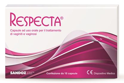 Immagine di RESPECTA 10 CAPSULE AD USO ORALE PER VAGINITI E VAGINOSI