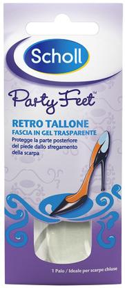 Immagine di PLANTARE ORTOPEDICO PER RETRO TALLONE PARTY FEET SCHOLL GEL ACTIV 1 PAIO