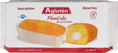 Immagine di AGLUTEN PLUM CAKE FARCITO AL LATTE 160 G