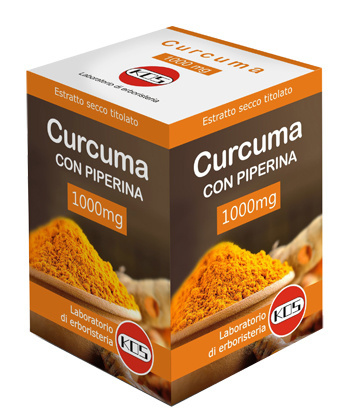 Immagine di CURCUMA + PIPERINA 1 G 30 COMPRESSE OVALI