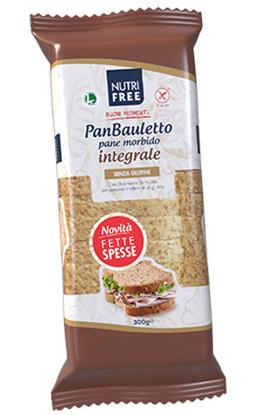 Immagine di NUTRIFREE PANBAULETTO INTEGRALE 300 G