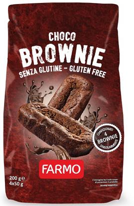 Immagine di FARMO CHOCO BROWNIE 4 X 50 G