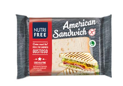 Immagine di NUTRIFREE AMERICAN SANDWICH 60 G X 4 PEZZI